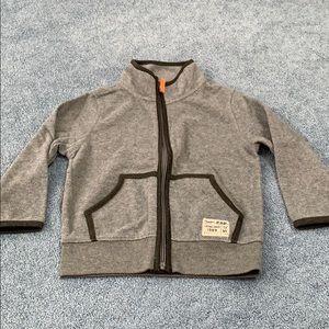 Baby gap heather gray jacket.